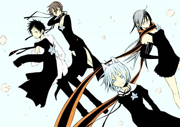 Tags: Anime, Pixiv Id 1694310, Yozakura Quartet, Isone Kotoha, Nanami Ao, Yarizakura Hime, Hiizumi Akina, Fanart, Pixiv
