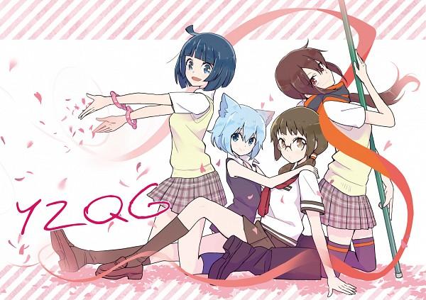 Tags: Anime, Ukke, Yozakura Quartet, Isone Kotoha, Nanami Ao, Kishi Touka, Yarizakura Hime, Fanart, Fanart From Pixiv, Pixiv