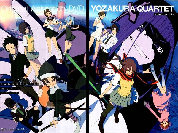 Tags: Anime, Yozakura Quartet, Yarizakura Hime, V Juri F, Kishi Touka, Shinatsuhiko Yae, Hiizumi Akina, Shinatsuhiko Yuuhi, Isone Kotoha, Kishi Kyousuke, Nanami Ao, Azuma Rin, Zakuro Kurumaki