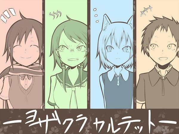 Tags: Anime, Pixiv Id 1606644, Yozakura Quartet, Hiizumi Akina, Isone Kotoha, Nanami Ao, Yarizakura Hime, Pixiv, Fanart
