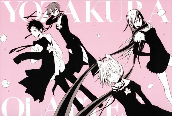 Tags: Anime, Suzuhito Yasuda, Yozakura Quartet, Nanami Ao, Yarizakura Hime, Hiizumi Akina, Isone Kotoha, Yozakura
