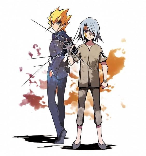 Tags: Anime, Seiduki Iknow, Yu-Gi-Oh! 5D's, Yu-Gi-Oh!, Kiryu Kyousuke, Jack Atlas