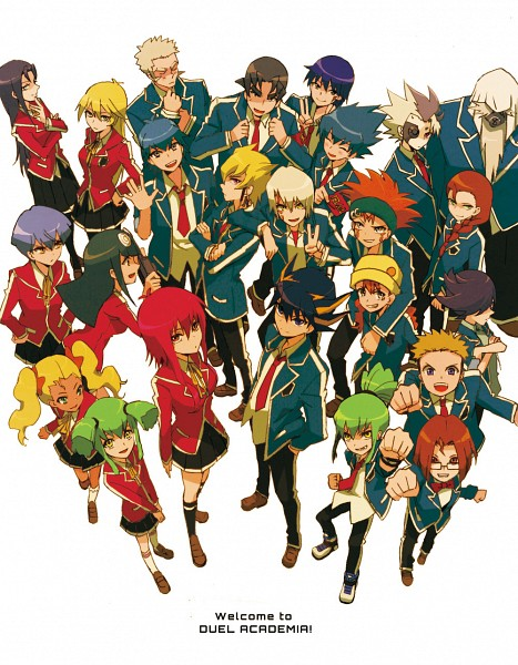 Tags: Anime, Ni (Pixiv154638), Yu-Gi-Oh!, Yu-Gi-Oh! 5D's, Misty Lola, Patty (Yu-Gi-Oh! 5D's), Lua (Yu-Gi-Oh! 5D's), Sly (Yu-Gi-Oh! 5D's), Tetsu Ushio, Carly Nagisa, Jose (Yu-Gi-Oh! 5D's), Bob (Yu-Gi-Oh! 5D's), Jack Atlas