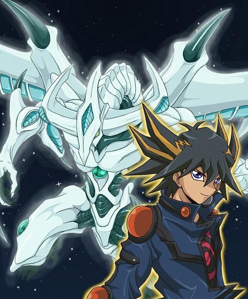 Tags: Anime, Pixiv Id 922702, Yu-Gi-Oh!, Yu-Gi-Oh! 5D's, Shooting Star Dragon, Yusei Fudo, Fanart From Pixiv, Fanart, Pixiv