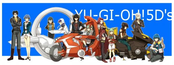 Tags: Anime, Yu-Gi-Oh!, Yu-Gi-Oh! 5D's, Luca (Yu-Gi-Oh! 5D's), Izayoi Aki, Lua (Yu-Gi-Oh! 5D's), Kuribon, Carly Nagisa, Jack Atlas, Tetsu Ushio, Kiryu Kyousuke, Yusei Fudo, Bruno