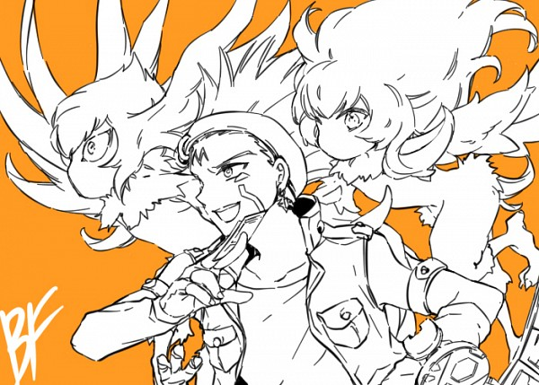 Tags: Anime, TILA, Yu-Gi-Oh! 5D's, Yu-Gi-Oh!, Blackwing - Breeze the Zephyr, Blackwing - Gale the Whirlwind, Crow Hogan, Mouthless, Pixiv, Fanart From Pixiv, Fanart, Blackwing