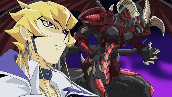 Tags: Anime, Piccolora, Yu-Gi-Oh!, Yu-Gi-Oh! 5D's, Red Dragon Archfiend, Jack Atlas, Fanart From DeviantART, Wallpaper, Vector, HD Wallpaper, deviantART
