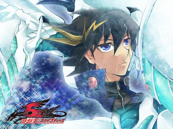 Tags: Anime, Yu-Gi-Oh!, Yu-Gi-Oh! 5D's, Shooting Star Dragon, Yusei Fudo