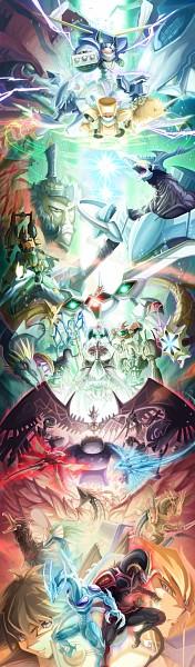 Tags: Anime, Hokuto Shinken, Yu-Gi-Oh! Bonds Beyond Time, Yu-Gi-Oh!, Yu-Gi-Oh! 5D's, Power Tool Dragon, Junk Synchron, Meklord Emperor Skiel, Yusei Fudo, Black Rose Dragon, Earthbound Immortal Aslla Piscu, Life Stream Dragon, Red Dragon Archfiend