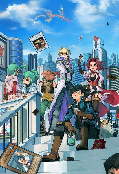 Tags: Anime, Mayday, Yu-Gi-Oh! GX, Yu-Gi-Oh! ZEXAL, Yu-Gi-Oh! 5D's, Yu-Gi-Oh!, Izayoi Aki, Crimson Dragon, Crow Hogan, Bruno, Juudai Yuuki, Mutou Yuugi, Misawa Daichi