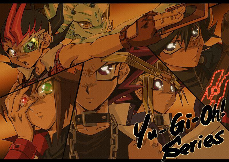 Tags: Anime, Raku623, Yu-Gi-Oh! ZEXAL, Yu-Gi-Oh! 5D's, Yu-Gi-Oh! Duel Monsters, Yu-Gi-Oh!, Yu-Gi-Oh! GX, Juudai Yuuki, Yami Yugi, Yusei Fudo, Astral, Mutou Yuugi, Tsukumo Yuma