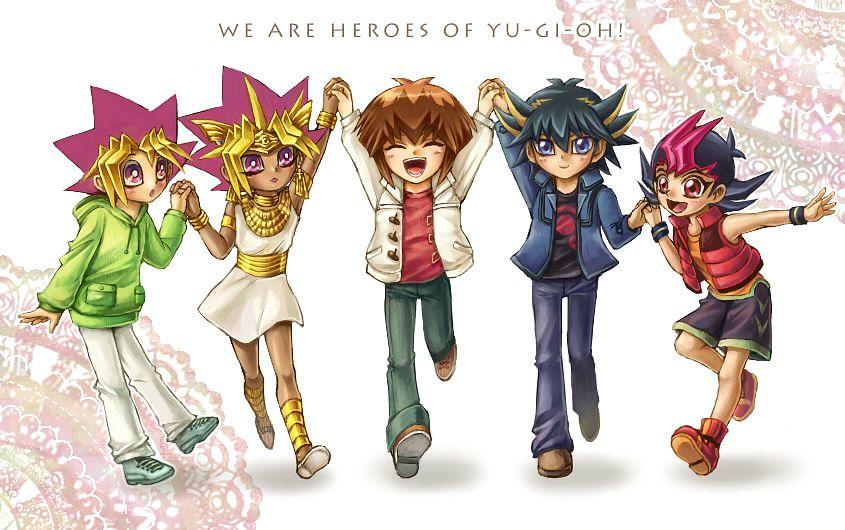 Tags: Anime, Yiyiyi, Yu-Gi-Oh! GX, Yu-Gi-Oh!, Yu-Gi-Oh! Duel Monsters, Yu-Gi-Oh! ZEXAL, Yu-Gi-Oh! 5D's, Yusei Fudo, Yami Yugi, Mutou Yuugi, Tsukumo Yuma, Juudai Yuuki, Pharaoh Atem
