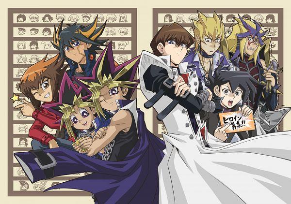 Tags: Anime, Raku623, Yu-Gi-Oh! Bonds Beyond Time, Yu-Gi-Oh! Duel Monsters, Yu-Gi-Oh!, Pegasus J. Crawford, Yami Yugi, Voodoo Doll, Fanart From Pixiv, Fanart, Pixiv