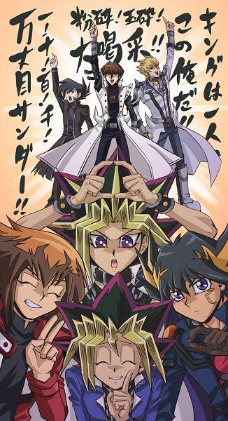Tags: Anime, Raku623, Yu-Gi-Oh!, Yu-Gi-Oh! Duel Monsters, Fanart, Fanart From Pixiv, Happy 2010, Mobile Wallpaper, Pixiv