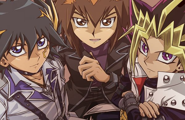 Tags: Anime, Raku623, Yu-Gi-Oh! Duel Monsters, Yu-Gi-Oh!, Manjoume Jun (Cosplay), Kaiba Seto (Cosplay), Jack Atlas (Cosplay), Fanart, Fanart From Pixiv, Pixiv