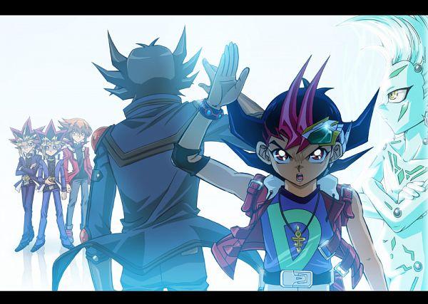 Tags: Anime, Raku623, Yu-Gi-Oh! 5D's, Yu-Gi-Oh!, Yu-Gi-Oh! GX, Yu-Gi-Oh! Duel Monsters, Yu-Gi-Oh! ZEXAL, Juudai Yuuki, Mutou Yuugi, Yami Yugi, Astral, Yusei Fudo, Tsukumo Yuma