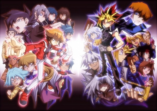 Tags: Anime, Yu-Gi-Oh! GX, Yu-Gi-Oh! Duel Monsters, Yu-Gi-Oh!, Marufuji Shou, Marik Ishtar, Johan Andersen, Mutou Yuugi, Yami Yugi, Tenjouin Asuka, Yami Bakura, Tenjouin Fubuki, Honda Hiroto