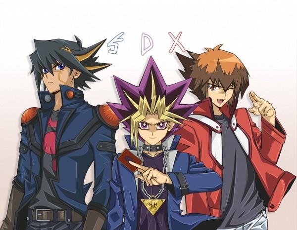 Tags: Anime, Nikami Yukitaka, Yu-Gi-Oh! Duel Monsters, Yu-Gi-Oh! GX, Yu-Gi-Oh! 5D's, Yu-Gi-Oh!, Yusei Fudo, Yami Yugi, Juudai Yuuki, >:(
