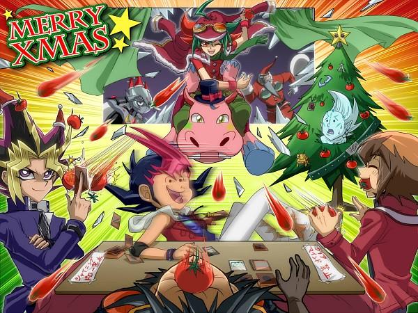 Tags: Anime, Kaminari Jin, Yu-Gi-Oh! ARC-V, Yu-Gi-Oh! GX, Yu-Gi-Oh!, Yu-Gi-Oh! ZEXAL, Yu-Gi-Oh! 5D's, Yu-Gi-Oh! Duel Monsters, Sakaki Yuya, Yusei Fudo, Yami Yugi, Astral, Vector (Yu-Gi-Oh! ZEXAL)