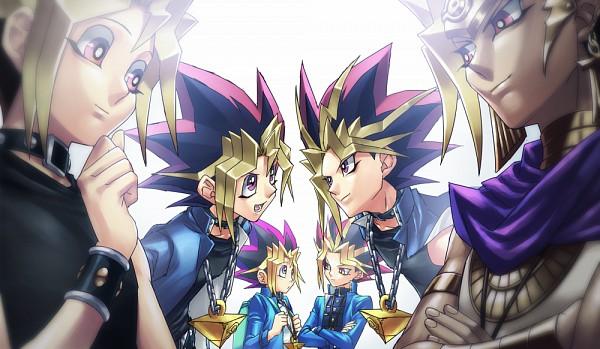 Tags: Anime, Rokuro, Yu-Gi-Oh! Season Zero, Yu-Gi-Oh!, Yu-Gi-Oh! Duel Monsters, Mutou Yuugi, Pharaoh Atem, Yami Yugi, Fanart, Pixiv, Fanart From Pixiv