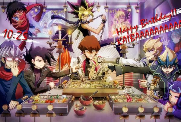 Tags: Anime, Kaminari Jin, Yu-Gi-Oh! Duel Monsters, Yu-Gi-Oh!, Yu-Gi-Oh! GX, Yu-Gi-Oh! ARC-V, Yu-Gi-Oh! ZEXAL, Yu-Gi-Oh! 5D's, Jack Atlas, Shingetsu Rei, Kaiba Mokuba, Tenjou Kaito, Kurosaki Shun