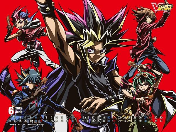 Tags: Anime, Takahiro Kagami, Studio Gallop, Yu-Gi-Oh! ZEXAL, Yu-Gi-Oh! ARC-V, Yu-Gi-Oh! GX, Yu-Gi-Oh! Duel Monsters, Yu-Gi-Oh!, Yu-Gi-Oh! 5D's, Juudai Yuuki, Sakaki Yuya, Yami Yugi, Yusei Fudo