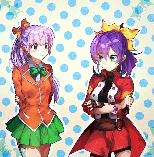 Tags: Anime, Pixiv Id 6063575, Yu-Gi-Oh! Season Zero, Yu-Gi-Oh! ARC-V, Yu-Gi-Oh!, Nosaka Miho, Serena (Yu-Gi-Oh! ARC-V), Fanart From Pixiv, Pixiv, Fanart