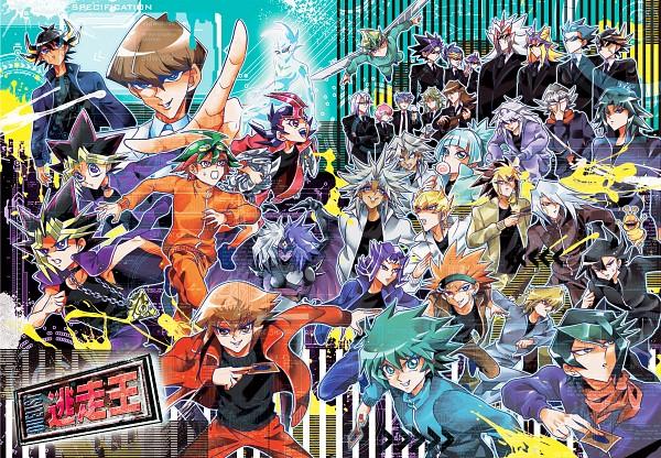 Tags: Anime, Bov, Yu-Gi-Oh! Bonds Beyond Time, Yu-Gi-Oh! ZEXAL, Yu-Gi-Oh! ARC-V, Yu-Gi-Oh! Duel Monsters, Yu-Gi-Oh! GX, Yu-Gi-Oh!, Yu-Gi-Oh! 5D's, Tenjou Kaito, Yami Marik, Sakaki Yuya, Juudai Yuuki