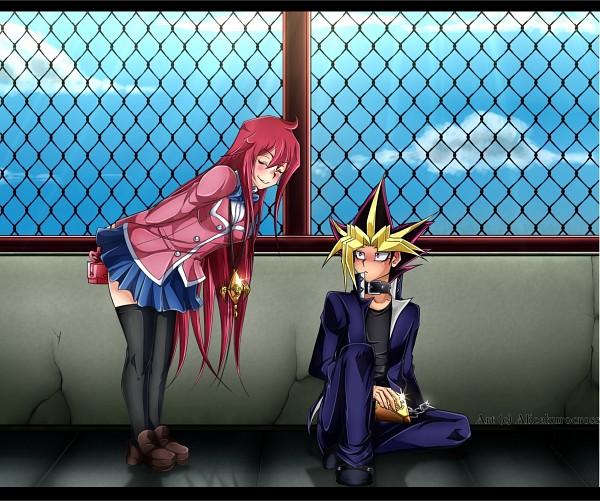 Tags: Anime, AliceKuroCross, Yu-Gi-Oh! Duel Monsters, Yu-Gi-Oh!, Yami Yugi, Fan Character, Self Made, Fanart, deviantART