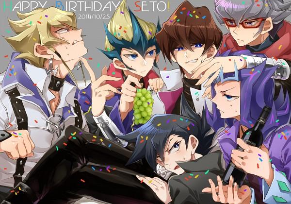 Tags: Anime, Pixiv Id 2128303, Yu-Gi-Oh! 5D's, Yu-Gi-Oh! ARC-V, Yu-Gi-Oh!, Yu-Gi-Oh! GX, Yu-Gi-Oh! Duel Monsters, Yu-Gi-Oh! ZEXAL, Tenjou Kaito, Jack Atlas, Akaba Reiji, Kaiba Seto, Manjoume Jun