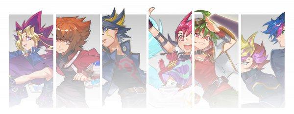 Tags: Anime, CZ, Yu-Gi-Oh! VRAINS, Yu-Gi-Oh! Duel Monsters, Yu-Gi-Oh! ZEXAL, Yu-Gi-Oh! 5D's, Yu-Gi-Oh!, Yu-Gi-Oh! ARC-V, Yu-Gi-Oh! GX, Tsukumo Yuma, Juudai Yuuki, Sakaki Yuya, Playmaker