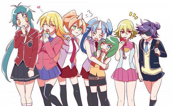 Tags: Anime, Pixiv Id 984468, Yu-Gi-Oh! VRAINS, Yu-Gi-Oh!, Yu-Gi-Oh! GX, Yu-Gi-Oh! ARC-V, Yu-Gi-Oh! 5D's, Yu-Gi-Oh! ZEXAL, Yu-Gi-Oh! Duel Monsters, Effect Veiler, Card Ejector, Performapal Corn, Backup Secretary