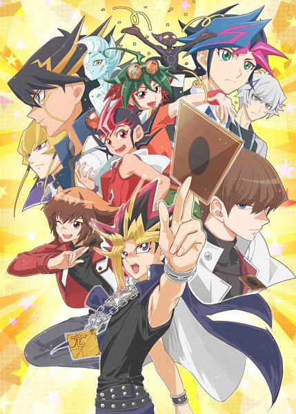 Tags: Anime, Pixiv Id 7085996, Yu-Gi-Oh! VRAINS, Yu-Gi-Oh! ARC-V, Yu-Gi-Oh!, Yu-Gi-Oh! ZEXAL, Yu-Gi-Oh! Duel Monsters, Yu-Gi-Oh! 5D's, Yu-Gi-Oh! GX, Fujiki Yuusaku, Juudai Yuuki, Jack Atlas, Kaiba Seto