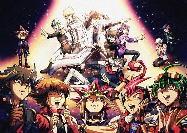 Tags: Anime, Raku623, Yu-Gi-Oh! VRAINS, Yu-Gi-Oh! Duel Monsters, Yu-Gi-Oh! ZEXAL, Yu-Gi-Oh! GX, Yu-Gi-Oh!, Yu-Gi-Oh! ARC-V, Yu-Gi-Oh! 5D's, Yusei Fudo, Kaiba Seto, Tsukumo Yuma, Akaba Reiji