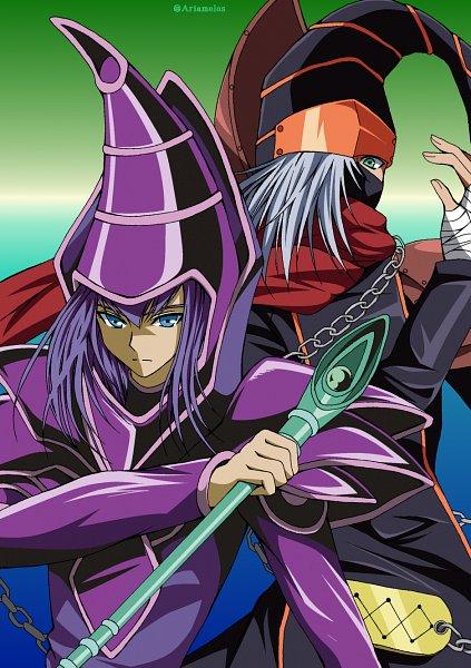 Tags: Anime, Yu-Gi-Oh! Duel Monsters, Yu-Gi-Oh!, Yu-Gi-Oh! ZEXAL, Dark Magician, Gagaga Magician, Twitter, Pixiv