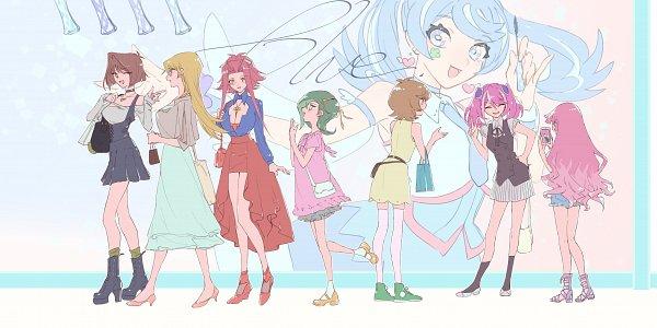 Tags: Anime, Yu-Gi-Oh! SEVENS, Yu-Gi-Oh! VRAINS, Yu-Gi-Oh! 5D's, Yu-Gi-Oh! ZEXAL, Yu-Gi-Oh! ARC-V, Yu-Gi-Oh!, Yu-Gi-Oh! Duel Monsters, Yu-Gi-Oh! GX, Mizuki Kotori, Kirishima Romin, Hiiragi Yuzu, Mazaki Anzu