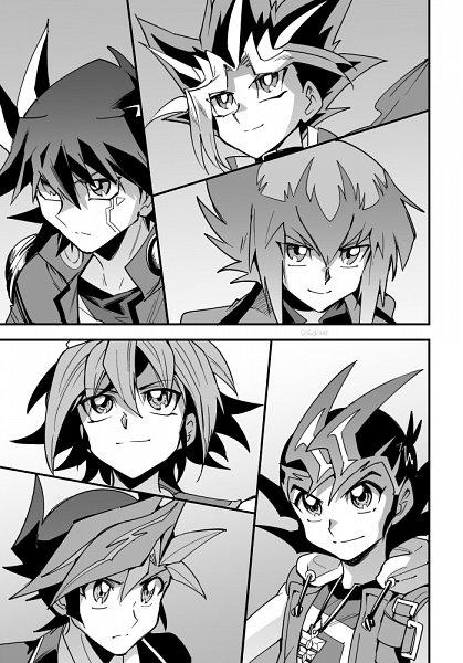 Tags: Anime, Yu-Gi-Oh! VRAINS, Yu-Gi-Oh!, Yu-Gi-Oh! Duel Monsters, Yu-Gi-Oh! GX, Yu-Gi-Oh! 5D's, Yu-Gi-Oh! ZEXAL, Yu-Gi-Oh! ARC-V, Juudai Yuuki, Fudou Yuusei, Fujiki Yuusaku, Tsukumo Yuma, Sakaki Yuya