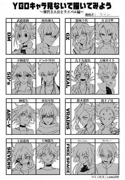 Tags: Anime, Yu-Gi-Oh! SEVENS, Yu-Gi-Oh! VRAINS, Yu-Gi-Oh! 5D's, Yu-Gi-Oh! ARC-V, Yu-Gi-Oh!, Yu-Gi-Oh! ZEXAL, Yu-Gi-Oh! GX, Yu-Gi-Oh! Duel Monsters, Tenjou Kaito, Playmaker, Jack Atlas, Kaiba Seto