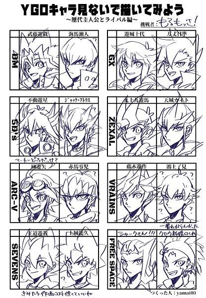 Tags: Anime, Yu-Gi-Oh! VRAINS, Yu-Gi-Oh! SEVENS, Yu-Gi-Oh! ARC-V, Yu-Gi-Oh! GX, Yu-Gi-Oh! 5D's, Yu-Gi-Oh! ZEXAL, Yu-Gi-Oh! Duel Monsters, Yu-Gi-Oh!, Kougami Ryouken, Kamijou Tatsuhisa, Crow Hogan, Kamishiro Ryoga