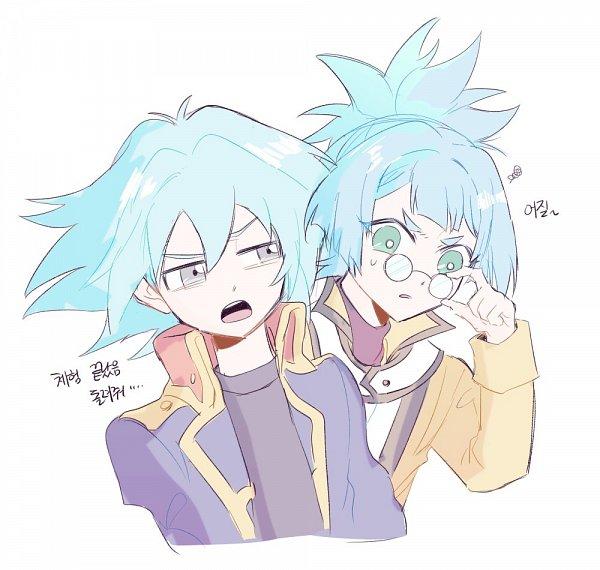 Tags: Anime, Egg Ygo, Yu-Gi-Oh! GX, Yu-Gi-Oh!, Yu-Gi-Oh! ARC-V, Shiunin Sora, Marufuji Shou, Shiunin Sora (Cosplay), Marufuji Shou (Cosplay), Fanart, Twitter