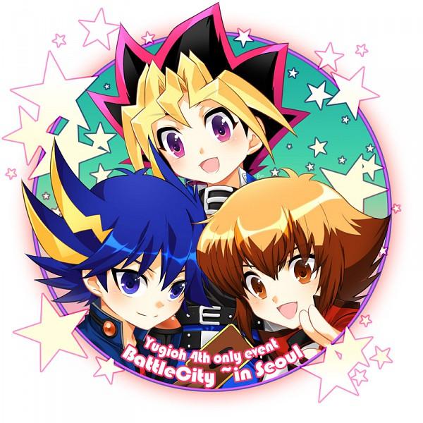 Tags: Anime, Penshia, Studio Gallop, Yu-Gi-Oh! GX, Yu-Gi-Oh! 5D's, Yu-Gi-Oh!, Yu-Gi-Oh! Duel Monsters, Juudai Yuuki, Mutou Yuugi, Yusei Fudo, deviantART
