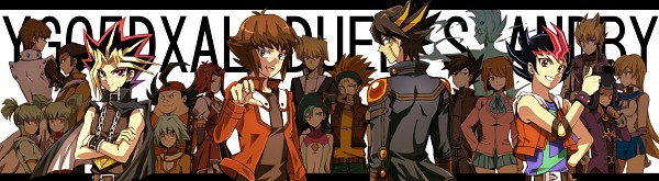 Tags: Anime, Studio Gallop, Yu-Gi-Oh! ZEXAL, Yu-Gi-Oh! GX, Yu-Gi-Oh! 5D's, Yu-Gi-Oh! Duel Monsters, Yu-Gi-Oh!, Tenjouin Asuka, Takeda Tetsuo, Jack Atlas, Jounouchi Katsuya, Crow Hogan, Astral