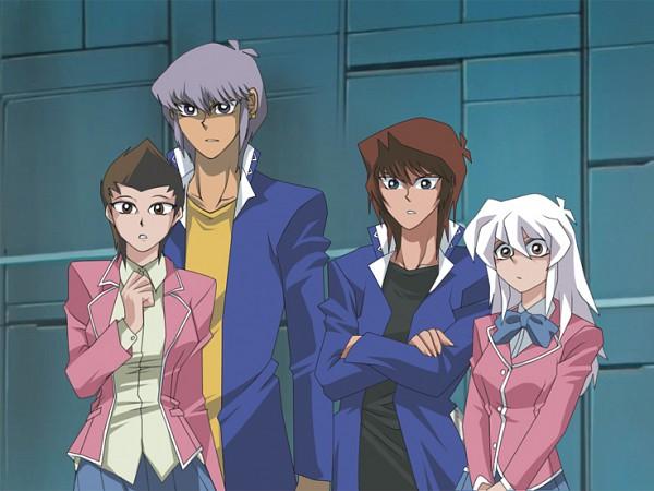 Tags: Anime, Toei Animation, Studio Gallop, Yu-Gi-Oh! Duel Monsters, Yu-Gi-Oh!, Bakura Ryou, Mazaki Anzu, Nosaka Miho, Honda Hiroto