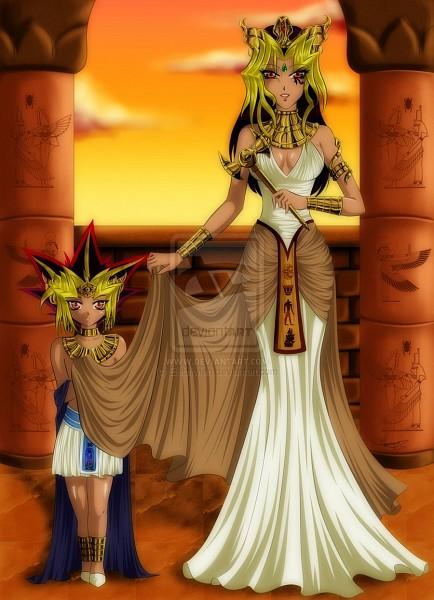 Tags: Anime, Yu-Gi-Oh!, Pharaoh Atem, Yami Yugi