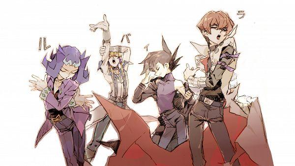 Tags: Anime, Kshabillya, Yu-Gi-Oh!, Yu-Gi-Oh! ZEXAL, Yu-Gi-Oh! 5D's, Yu-Gi-Oh! GX, Yu-Gi-Oh! Duel Monsters, Jack Atlas, Manjoume Jun, Kaiba Seto, Kamishiro Ryoga, Characteristic Connection, Out of Character
