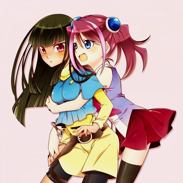 Yugioh Arc V Yuya And Yuzu