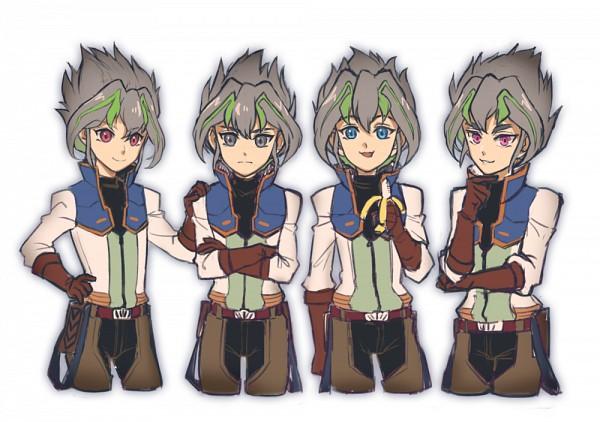 Tags: Anime, Pixiv Id 14069811, Yu-Gi-Oh! ARC-V, Yu-Gi-Oh!, Yuuri (Yu-Gi-Oh! ARC-V), Yuugo (Yu-Gi-Oh! ARC-V), Yuto (Yu-Gi-Oh! ARC-V), Sakaki Yuya, No Legs, Zarc (Cosplay), Pixiv, Fanart, Fanart From Pixiv