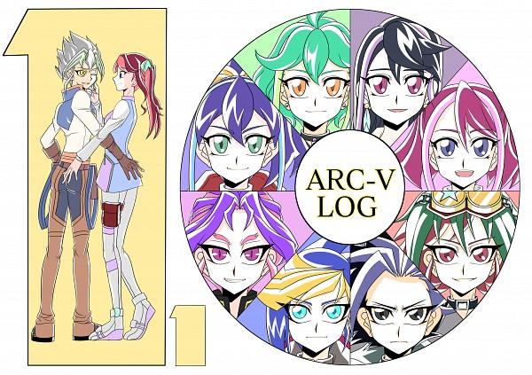 Tags: Anime, Pixiv Id 10907009, Yu-Gi-Oh!, Yu-Gi-Oh! ARC-V, Zarc, Yuugo (Yu-Gi-Oh! ARC-V), Akaba Ray, Rin (Yu-Gi-Oh! ARC-V), Yuto (Yu-Gi-Oh! ARC-V), Serena (Yu-Gi-Oh! ARC-V), Hiiragi Yuzu, Kurosaki Ruri, Sakaki Yuya