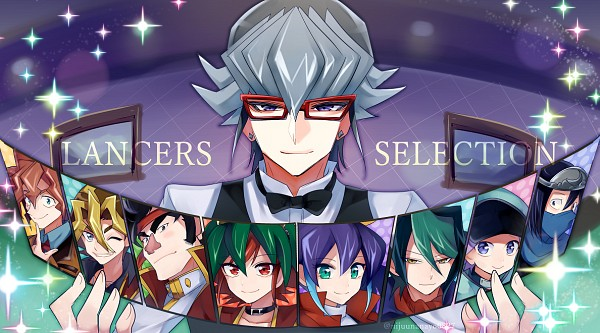 Tags: Anime, Pixiv Id 143114, Yu-Gi-Oh! ARC-V, Yu-Gi-Oh!, Tsukikage (Yu-Gi-Oh! ARC-V), Sawatari Shingo, Dennis Macfield, Gongenzaka Noboru, Serena (Yu-Gi-Oh! ARC-V), Akaba Reiji, Akaba Reira, Sakaki Yuya, Kurosaki Shun
