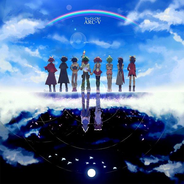 Tags: Anime, Pixiv Id 2211140, Yu-Gi-Oh! ARC-V, Yu-Gi-Oh!, Sakaki Yuya, Yuuri (Yu-Gi-Oh! ARC-V), Zarc, Yuugo (Yu-Gi-Oh! ARC-V), Akaba Ray, Rin (Yu-Gi-Oh! ARC-V), Yuto (Yu-Gi-Oh! ARC-V), Serena (Yu-Gi-Oh! ARC-V), Hiiragi Yuzu